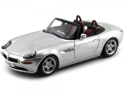 2000 BMW Z8 Roadster Gris Metalizado Bburago 12032 Cochesdemetal.es