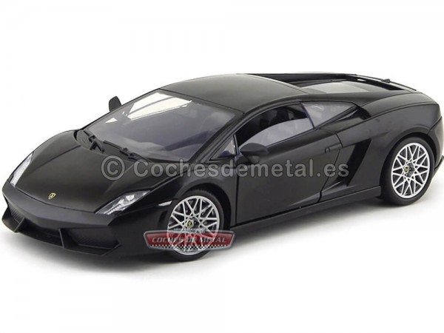 2009 Lamborghini Gallardo LP560-4 Negro 1:18 Mondo Motors 50099 Cochesdemetal.es