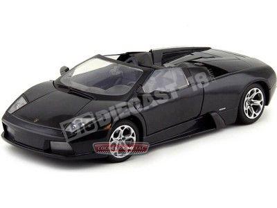 2004 Lamborghini Murcielago Roadster Negro 1:18 Motor Max 73169 Cochesdemetal.es