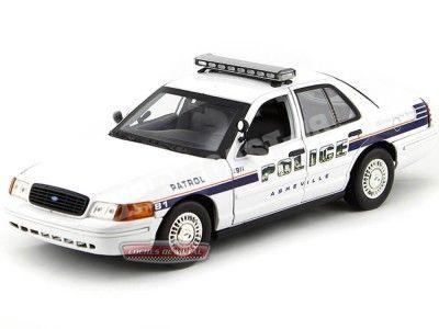 "2001 Ford Crown Victoria Interceptor ""Asheville Police"" Motor Max 73519 Cochesdemetal.es"