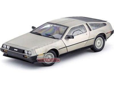 1981 DeLorean LK Coupe Acero Inoxidable 1:18 Sun Star 2701 Cochesdemetal.es