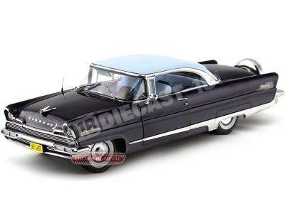 1956 Lincoln Premiere Hard Top Faimont Bue-Admiraly Blue 1:18 Sun Star 4653 Cochesdemetal.es