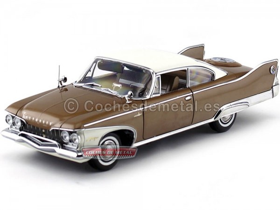 1960 Plymouth Fury Hard Top Caramel Metallic 1:18 Sun Star 5422 Cochesdemetal.es