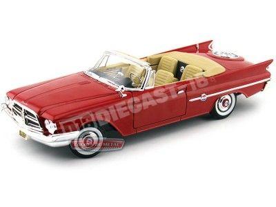 1960 Chrysler 300F Open Convertible Rojo 1:18 Lucky Diecast 92748 Cochesdemetal.es