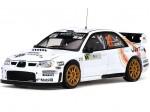 2008 Subaru Impreza WRC07 Rally de France Tour de Corse 1:18 Sun Star 4486