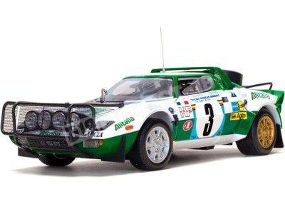 1975 Lancia Stratos HF Safari Rallye 1:18 Sun Star 4566