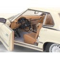 1977 Mercedes-Benz 350 SL W107 Hard Top Coupe Ivory 1:18 Sun Star 4667