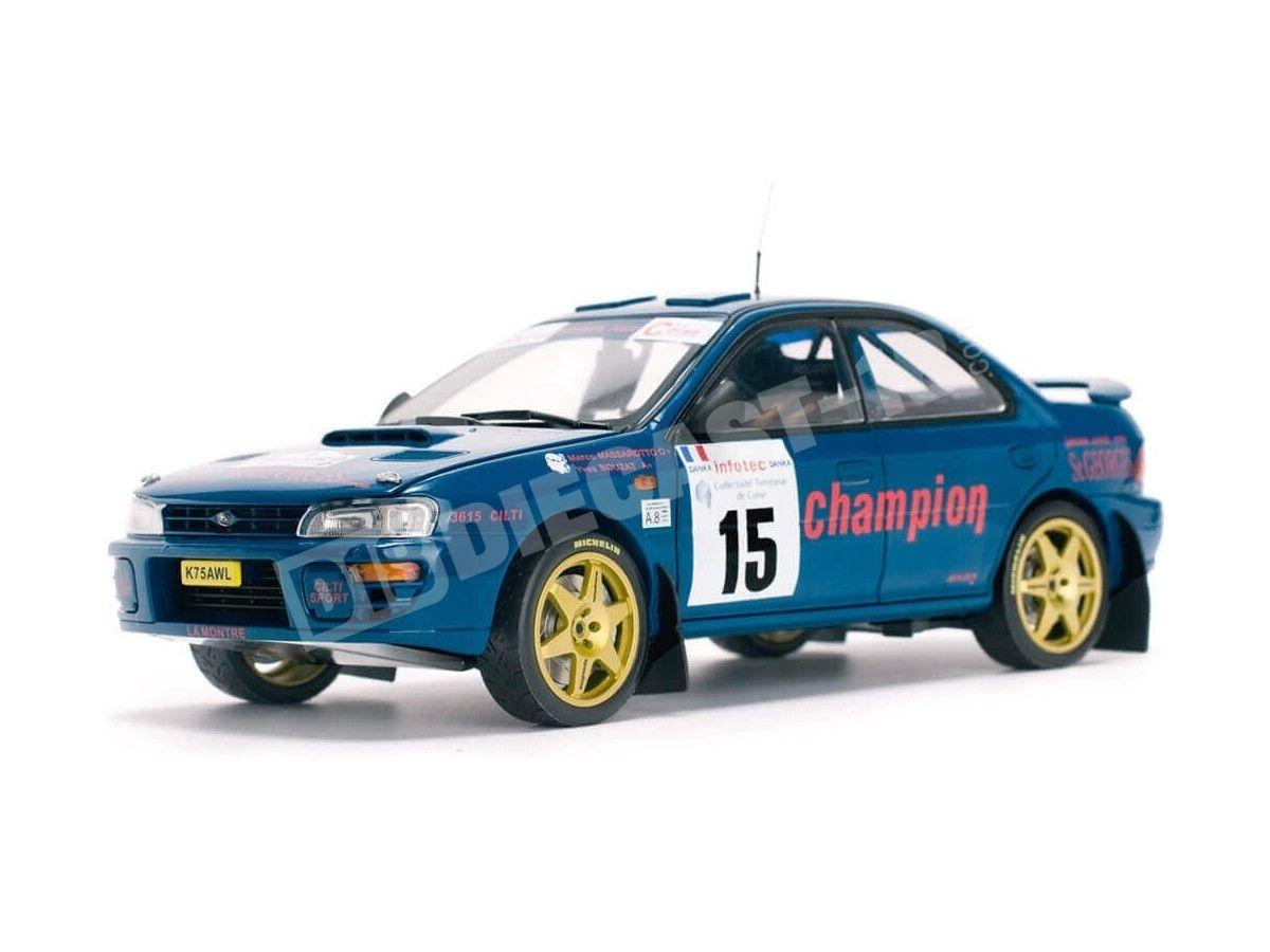 1996 Subaru Impreza 555 Rally de France Tour de Corse 1:18 Sun Star 5511 Cochesdemetal.es