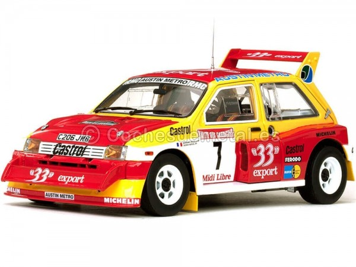 1986 MG Metro 6R4 Rallye des Garrigues-Languedoc-Roussillon 1:18 Sun Star 5532
