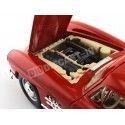 """1954 Mercedes-Benz 300 SL (W198) """"Alas de Gaviota"""" Rojo 1:18 Bburago 12047 Cochesdemetal.es"""