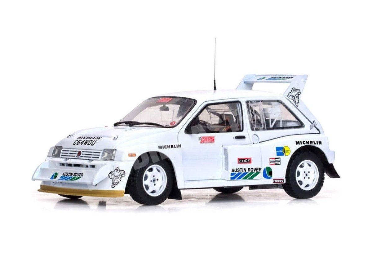 1986 MG Metro 6R4 Aryton Senna Test Car White 1:18 Sun Star 5538 Cochesdemetal.es