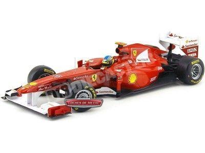"2011 Scuderia Ferrari F150 Italia ""Fernando Alonso"" 1:18 Hot Wheels W1073 Cochesdemetal.es"