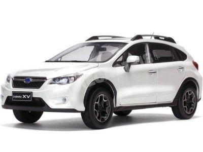 2014 Subaru XV Crystal White Pearl 1:18 Sun Star 5572