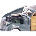 1939 Chevrolet Woody Surf Wagon Granville Gray 1:18 Sun Star 6177 Cochesdemetal.es