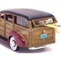 1939 Chevrolet Woody Surf Wagon Red/Wood 1:18 Sun Star 6176 Cochesdemetal.es