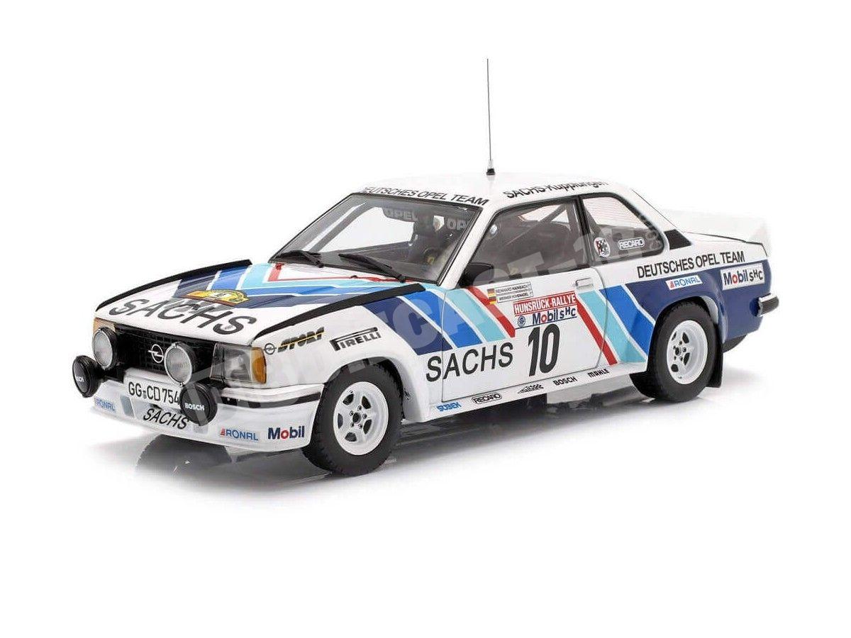 1980 Opel Ascona 400 Rally Hunsruck 1:18 Sun Star 5372 Cochesdemetal.es