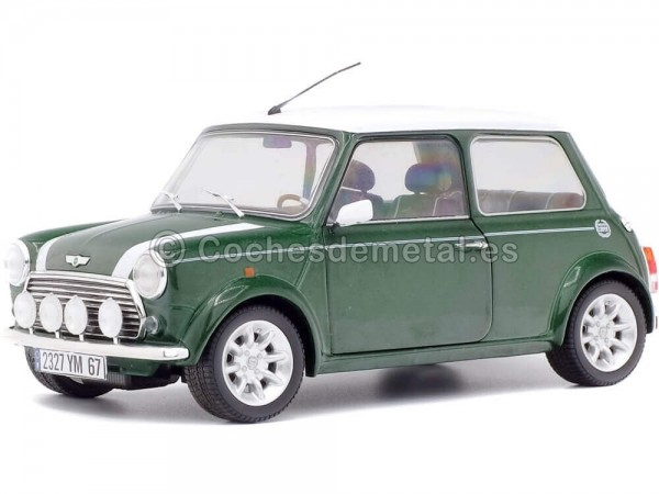 1997 Mini Cooper Sport Pack British Racing Green 1:18 Solido S1800603 Cochesdemetal.es