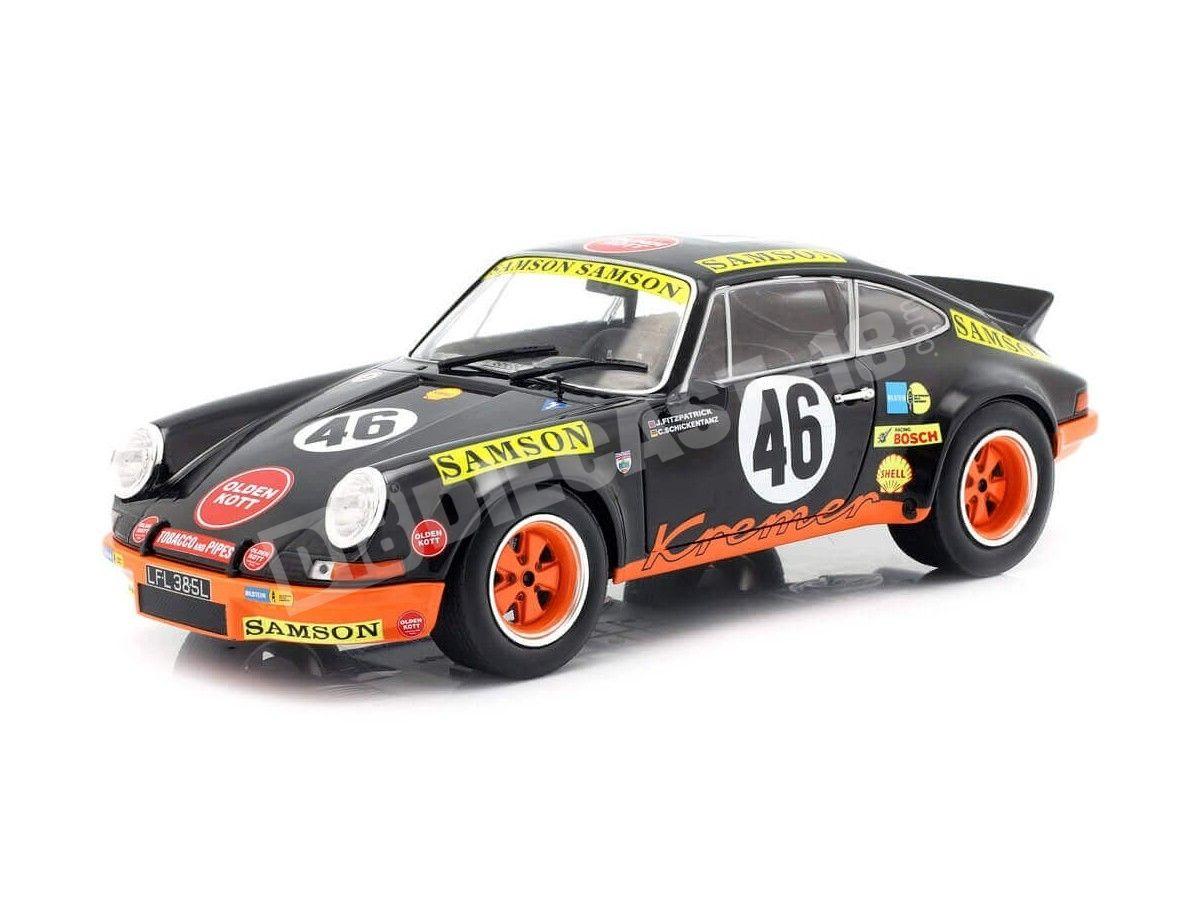 Solido porsche carrera 911 2.8 rsr 1973 le grand bazar maqueta de coche auto 1:18