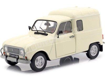 1975 Renault R4 4LF4 Cream White 1:18 Solido S1802201 Cochesdemetal.es