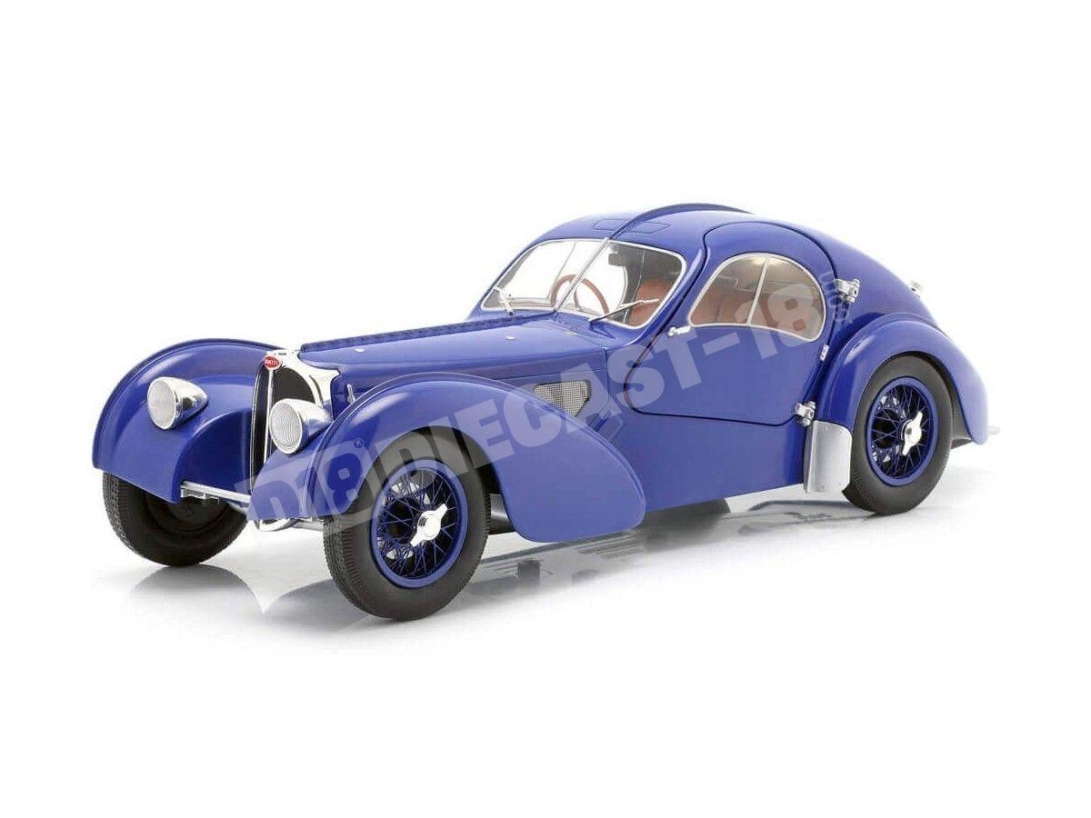 1937 Bugatti Atlantic 57 SC Dark Bleu 1:18 Solido S1802103 Cochesdemetal.es