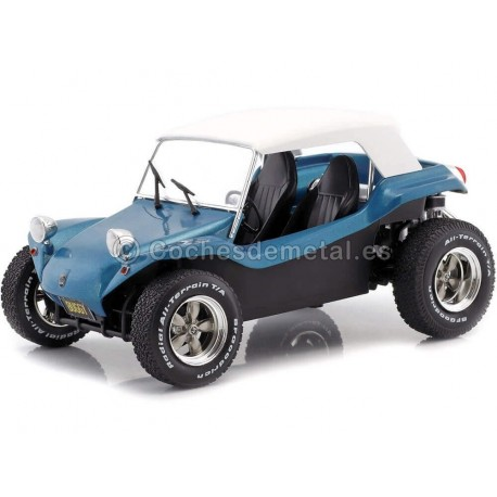 1970 Meyers Manx Buggy Soft Roof Azul 1:18 Solido S1802701 Cochesdemetal.es