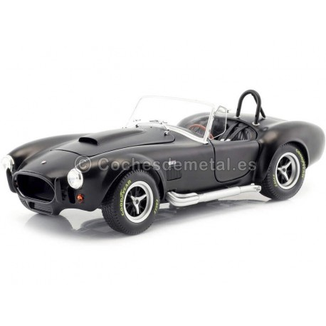 1965 Shelby AC Cobra 427 MKII Satin Black 1:18 Solido S1850025 Cochesdemetal.es