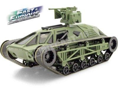 "2017 Tanque Militar Ripsaw Panzer ""Fast & Furious 8"" Green 1:24 Jada Toys 98293 Cochesdemetal.es"