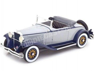 1931 Dodge Eight DG Roadster Gray/Blue 1:18 BoS-Models 375 Cochesdemetal.es