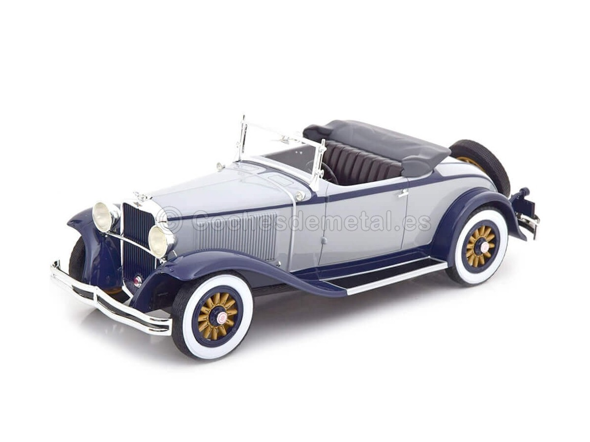 1931 Dodge Eight DG Roadster Gray/Blue 1:18 BoS-Models 375 Cochesdemetal.es