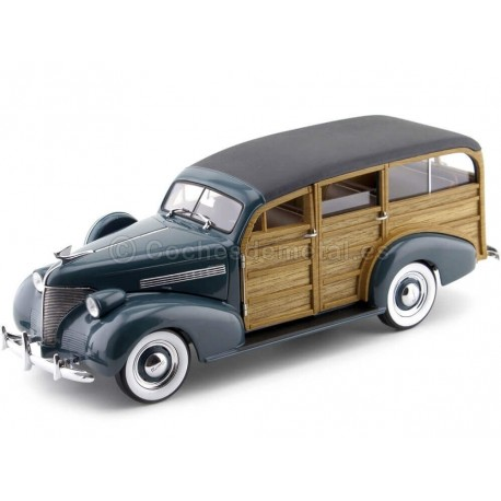 1939 Chevrolet Woody Station Wagon Yosemite Green 1:18 Sun Star 6171 Cochesdemetal.es