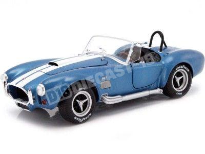 1965 Shelby AC Cobra 427 MKII Metallic Blue 1:18 Solido S1850017 Cochesdemetal.es