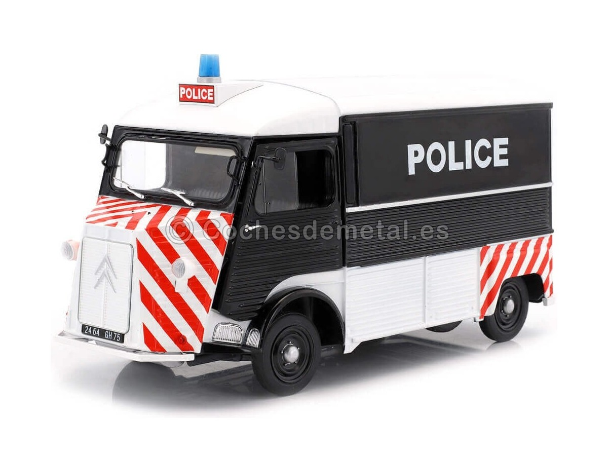 1969 Citroen Type HY Police Prefecture Paris 1:18 Solido S1850024 Cochesdemetal.es