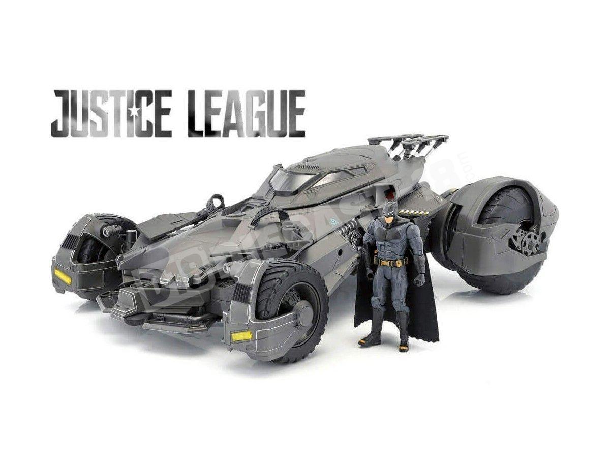 2017 Batmobile RC-Car Justice League con Batman 1:10 Mattel FRL54 Cochesdemetal.es