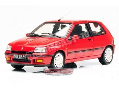 1991.- RENAULT CLIO 16S Rojo Norev 185231 Cochesdemetal.es