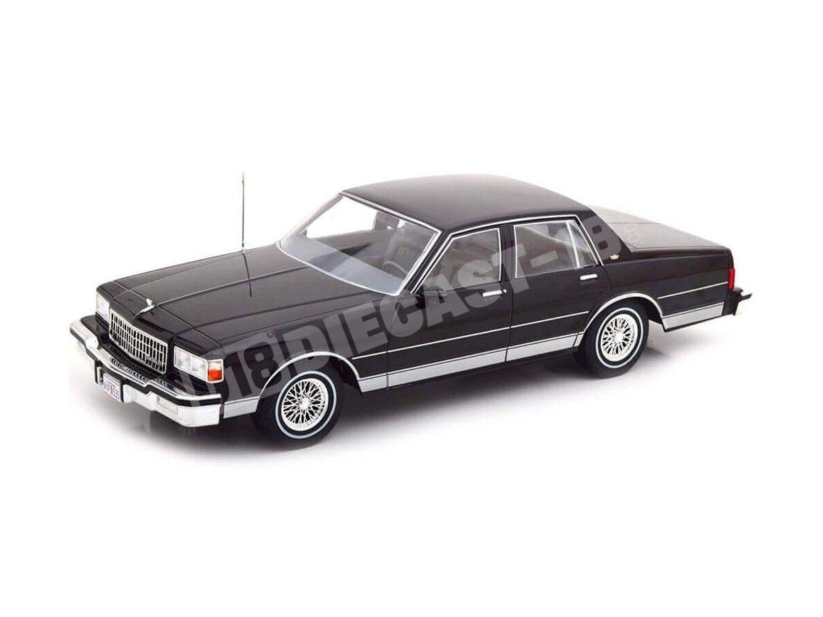 1985 Chevrolet Caprice Classic Sedan Negro 1:18 MC Group 18113 Cochesdemetal.es