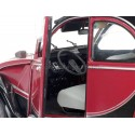 1982 Citroen 2CV6 Charleston Rojo-Negro 1:18 Solido S1805013 Cochesdemetal.es