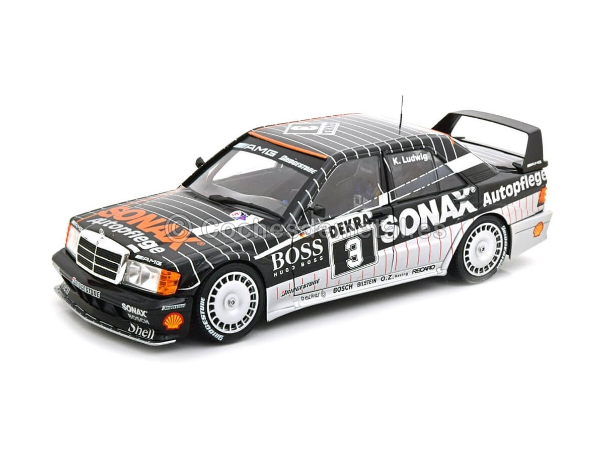 1992 Mercedes-Benz 190 E 2.5-16 Evolution II (W201) DTM 1:18 Solido S1801002 Cochesdemetal.es