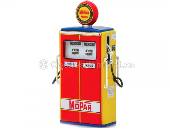 1954 Tokheim 350 Twin Gas Pump MOPAR Parts 1:18 Greenlight 14060C Cochesdemetal.es