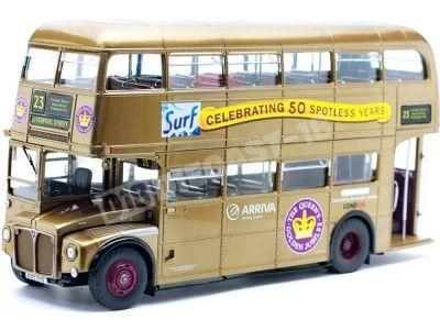 1986 Routemaster London Bus The Queen Golden Jubilee 50th 1:24 Sun Star 2942 Cochesdemetal.es