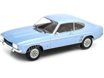 1973 Ford Capri MK1 azul metalizado 1:18 MC Group 18084 Cochesdemetal.es