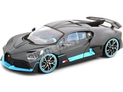 2018 Bugatti Divo Dull Deep Grey 1:18 Bburago 11045 Cochesdemetal.es