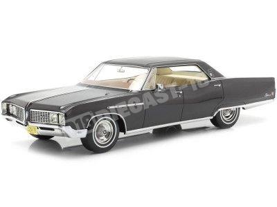1968 Buick Electra 225 4-Door Hardtop Black 1:18 BoS-Models 175 Cochesdemetal.es