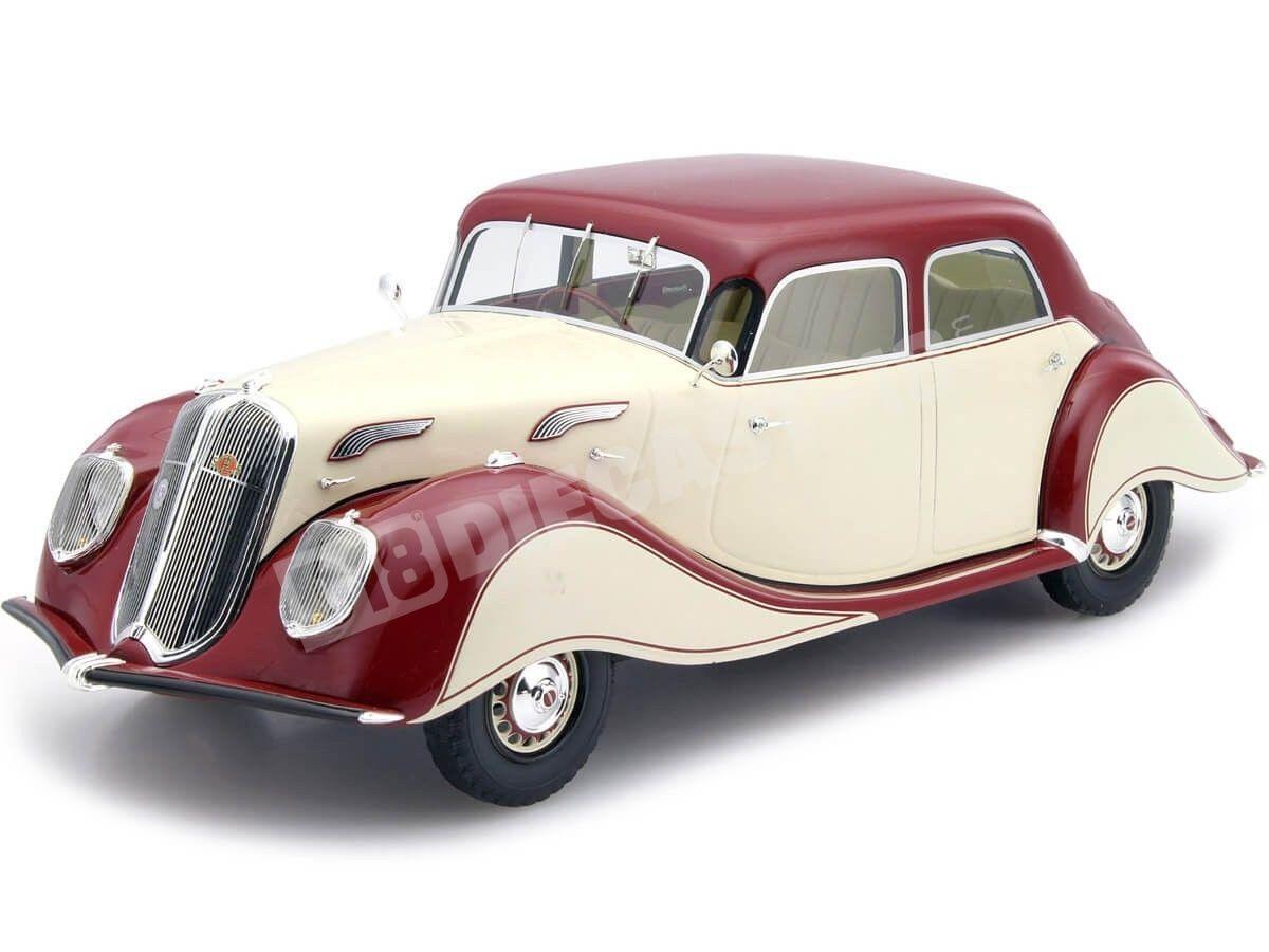 1936 Panhard-Levassor Beige-Granate 1:18 BoS-Models 194 Cochesdemetal.es