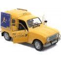 1975 Renault R4 4L F4 La Poste 1:18 Solido S1802203 Cochesdemetal.es