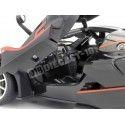 2015 Ferrari FXX-K Negro-Naranja 1:18 Bburago Race Play 16010 Cochesdemetal.es