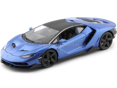 2016 Lamborghini Centenario LP-770 Azul Metalizado 1:18 Maisto 31386 Cochesdemetal.es