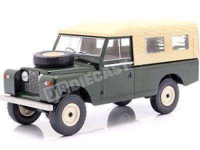 1959 Land Rover 109 Series II Cerrado Pick-Up Verde 1:18 MC Group 18118 Cochesdemetal.es