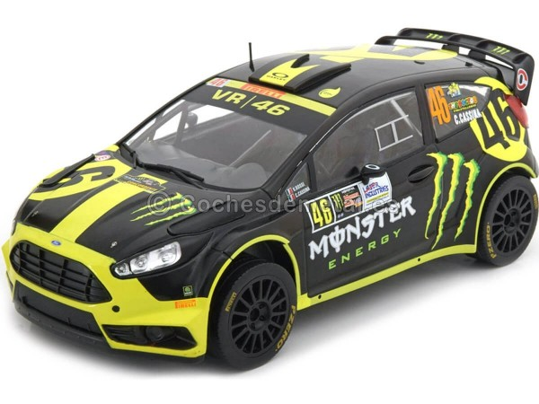 2014 Ford Fiesta RS WRC Valentino Rossi Winner Rally Monza 1:18 IXO Models 18RMC014 Cochesdemetal.es