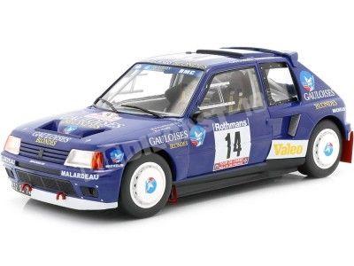 1985 Peugeot 205 T16 Rally Tour de Corse 1:18 Triple-9 1800205 Cochesdemetal.es
