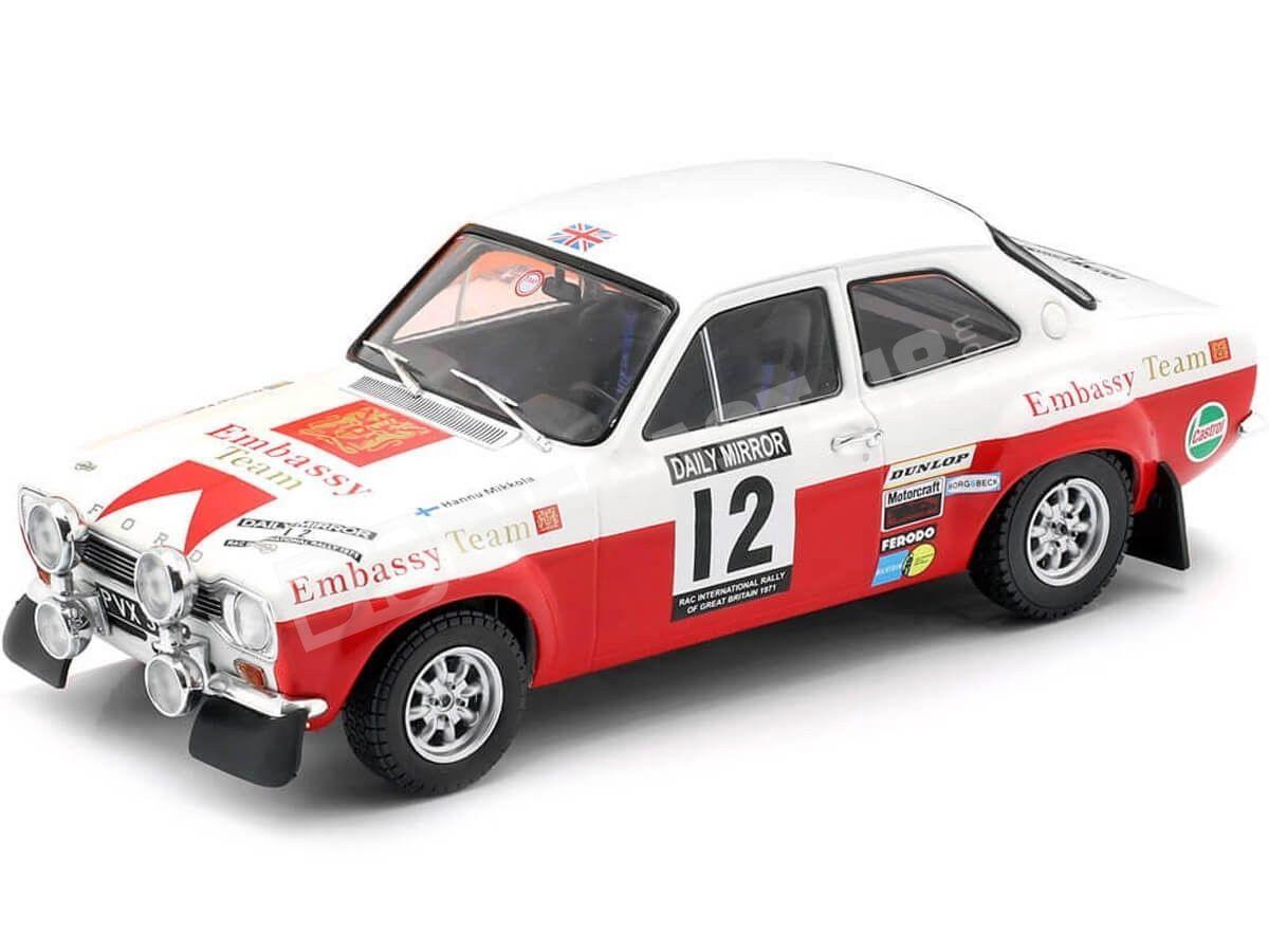 1971 Ford Escort MK1 RS 1600 RAC Rally 1:18 IXO Models 18RMC024A Cochesdemetal.es